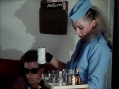 Stewardesses fuck and suck in &,#039,Sky Foxes&,#039, (1986) - part 1