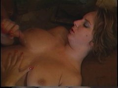 Retro Mindy Rae rides guys face with her tight pussy then bonks