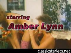 Classic Pornstar Amber Lynn Receives Licked and Dicked